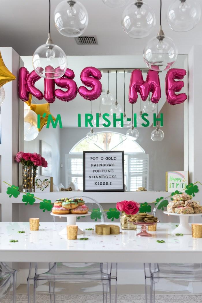 Girly St. Patricks Day Party