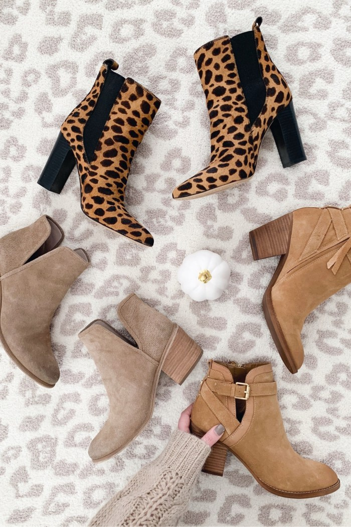 Top Fall Booties