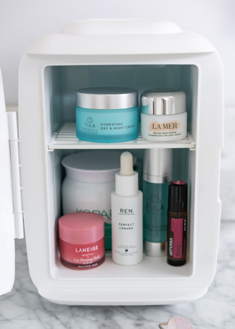 What I Keep Inside My Cooluli Skincare Fridge