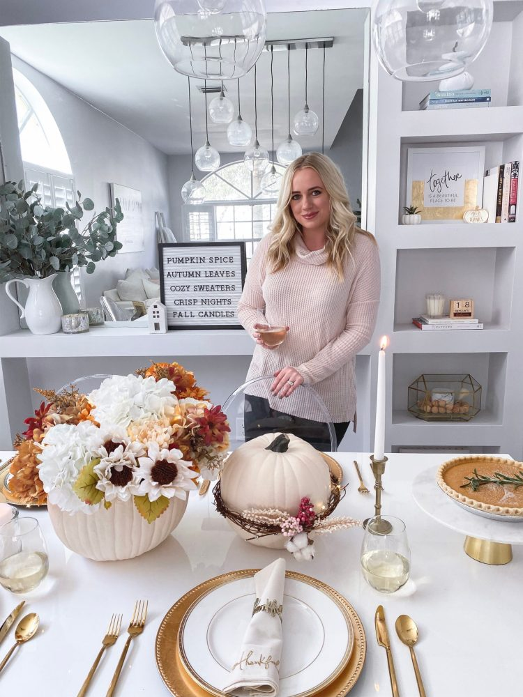 DIY Fall Tablescape with JOANN