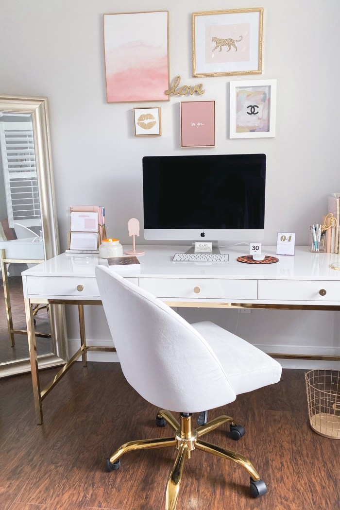 white-gold-home-office