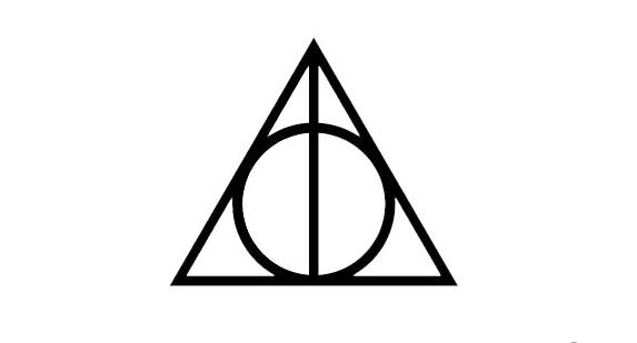 Harry-Potter Macbook Deathly Hallows Sticker