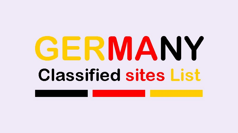 Free Germany Classified Ads Sites List For Cars Jobs Mobiles