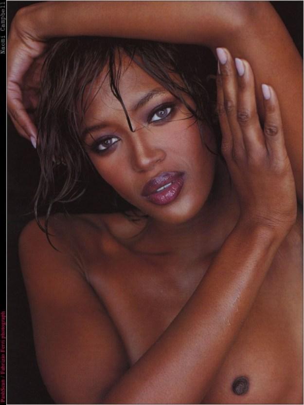 Naomi Campbell Naked 08