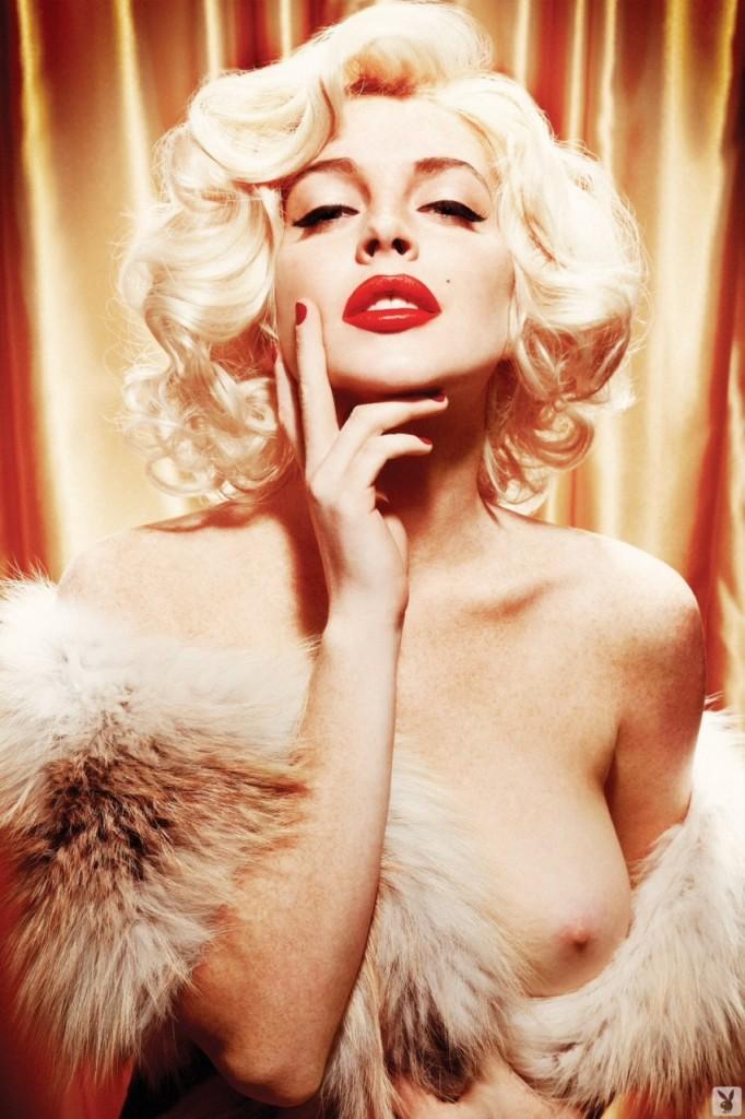 Lindsay Lohan Naked 11