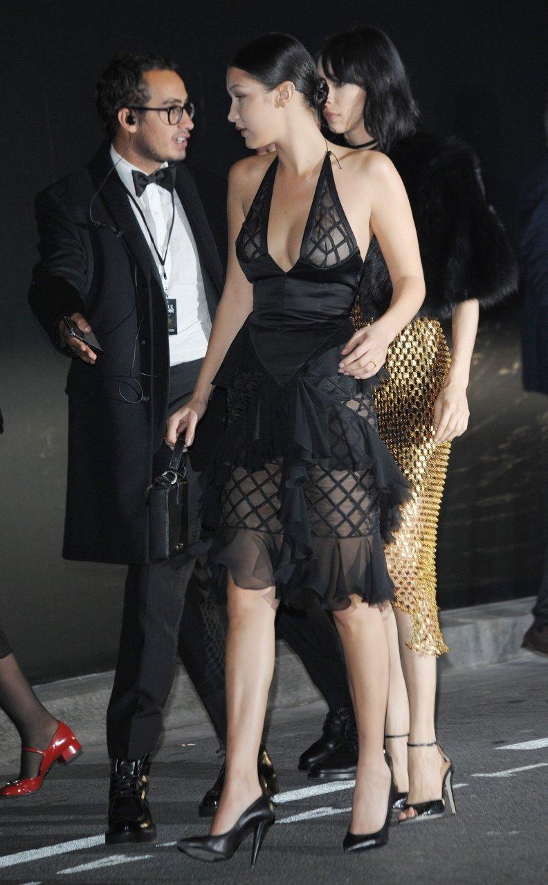 Bella Hadid See Through 27 Photos TheFappening