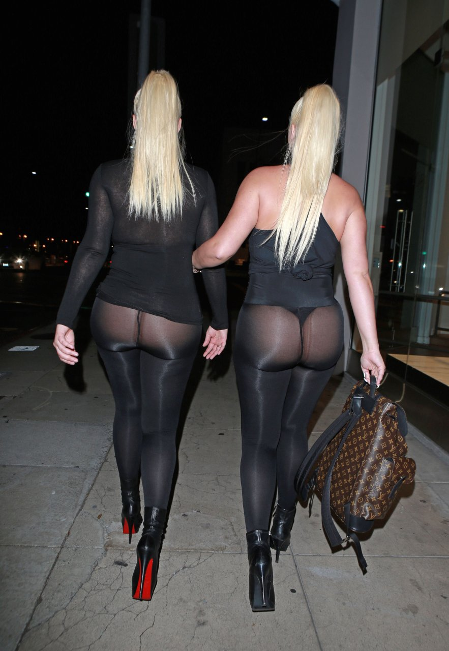 Kristina and Karissa Shannon See Through 39 Photos  TheFappening