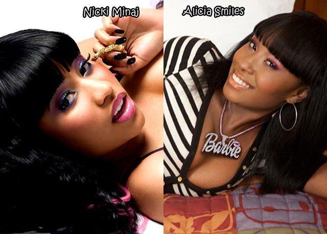 26.Nicki Minaj Alicia Smiles