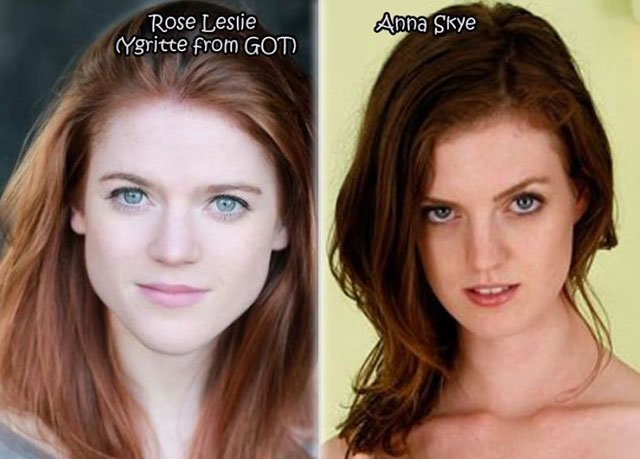 3.Rose Leslie-Anna-Skye