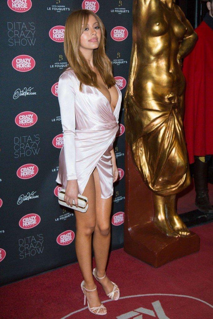 Zahia Dehar Without Underwear 20