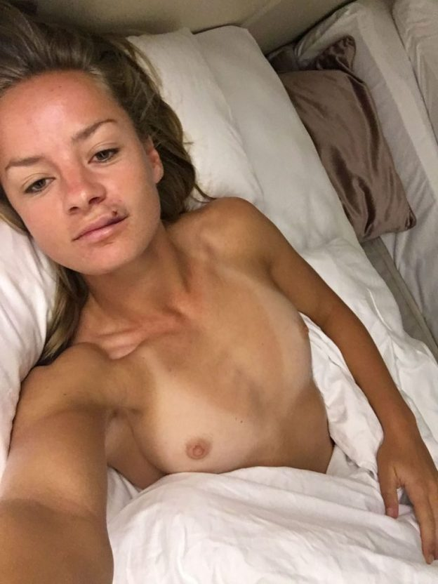 Danielle Wyatt leaked nude lesbian sex tape and sex photos from SnapChat The Fappening 2019