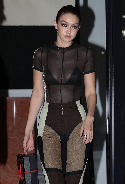 Gigi Hadid SeeThrough  The Fappening Leaked Photos 20152019