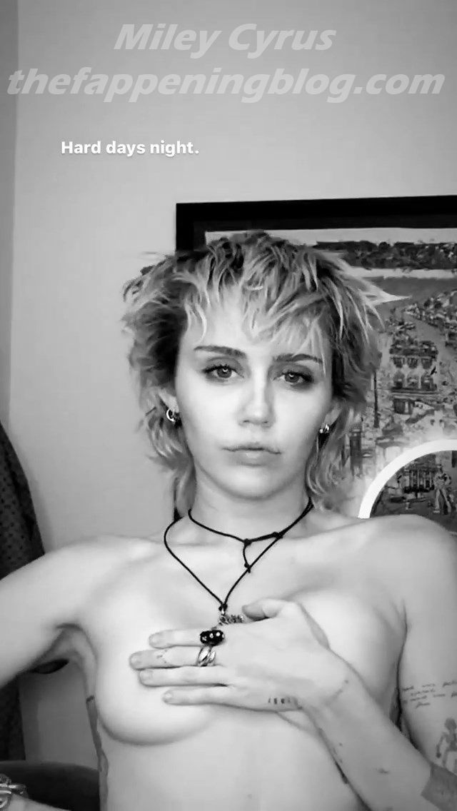Miley Cyrus Topless 4