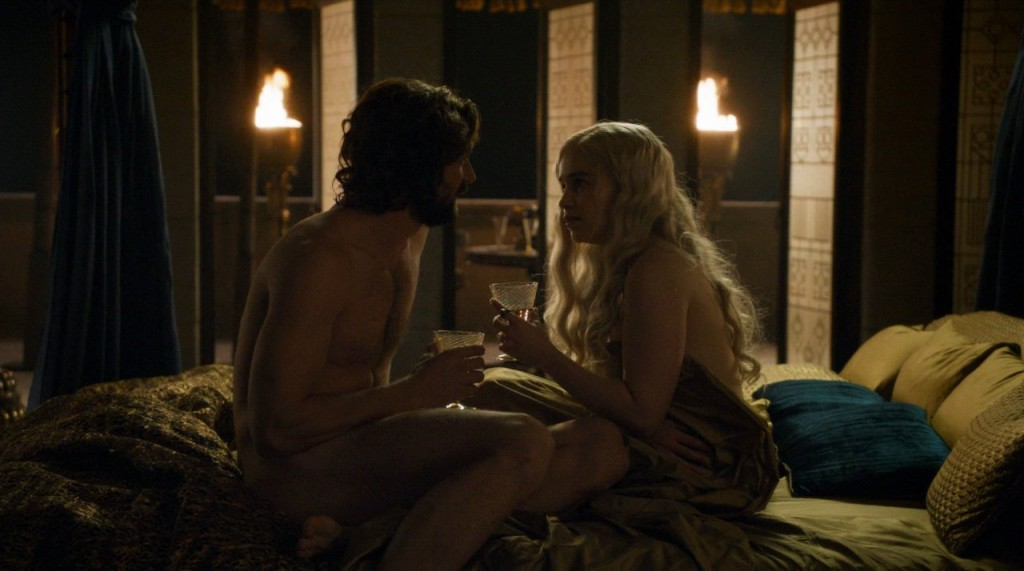 Emilia Clarke Topless (2 Photos + Video)
