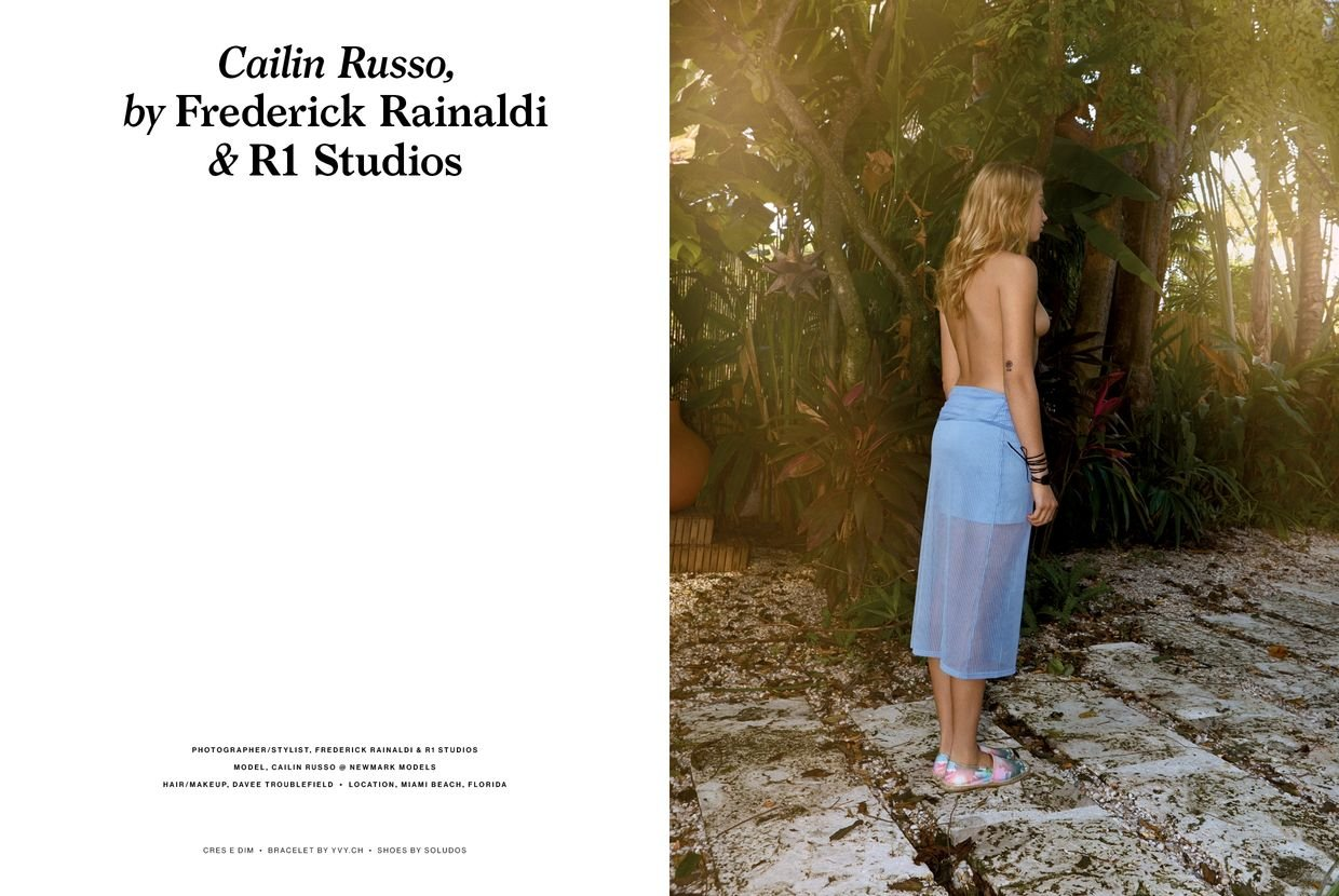 Cailin Russo Topless (9 New Photos)