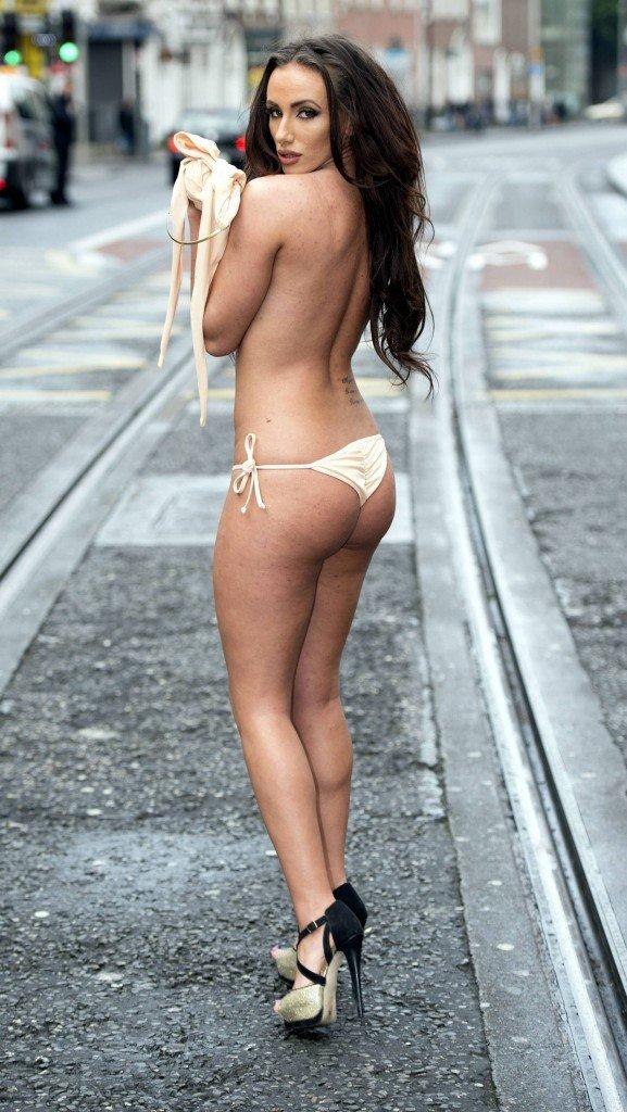 Miss Bikini Ireland Girls Go Topless (12 Photos)