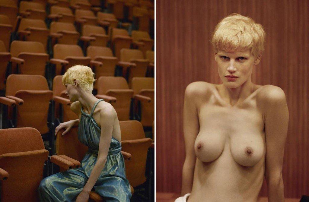 Saskia de Brauw Topless (1 Photo)