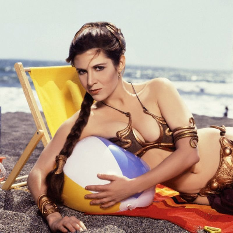 Carrie Fisher Sexy (9 Photos)
