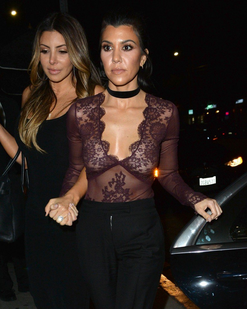 Kourtney Kardashian See Through (13 Photos)