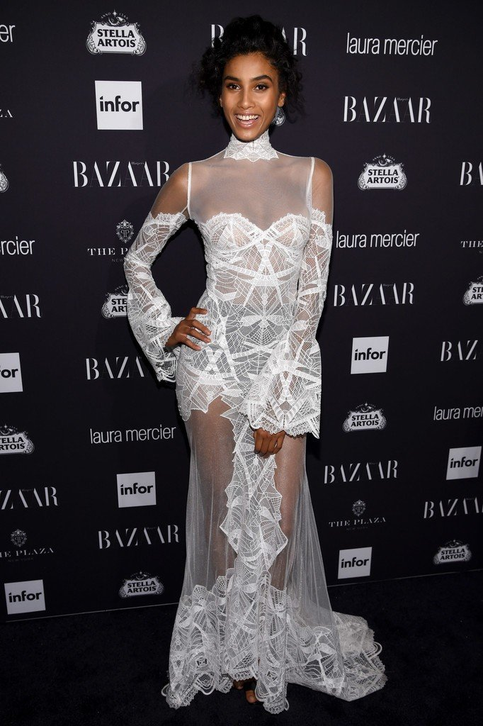 Imaan Hammam See Through (6 Photos)