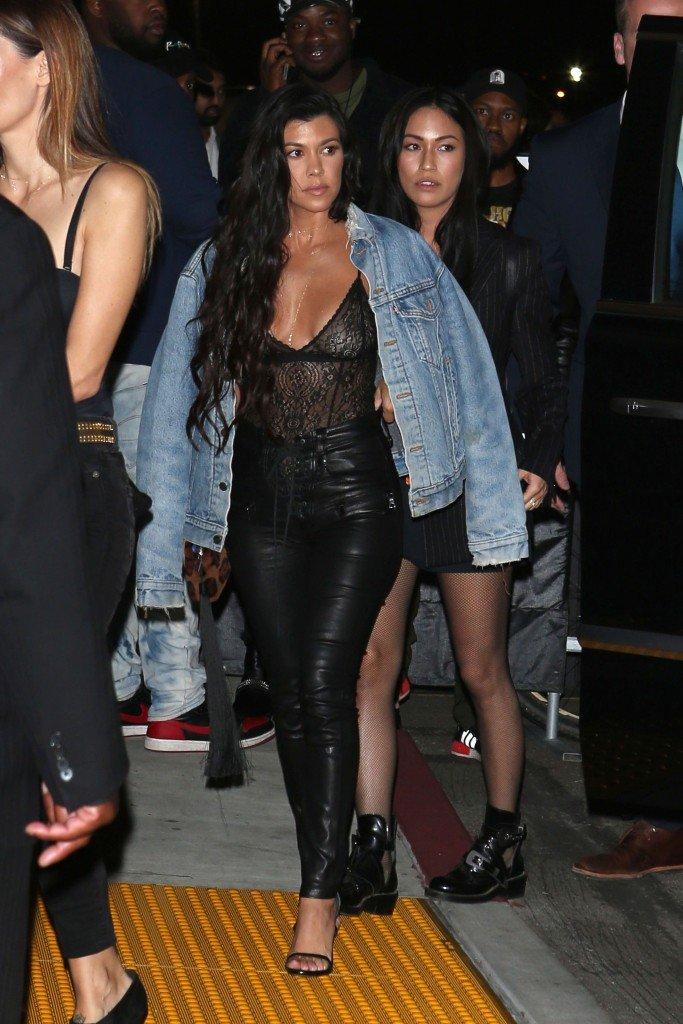 Kourtney Kardashian See Through (18 Photos)