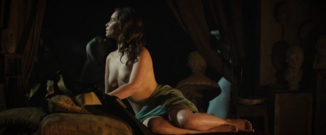 Emilia Clarke Nude Voice From The Stone 2017 1080p