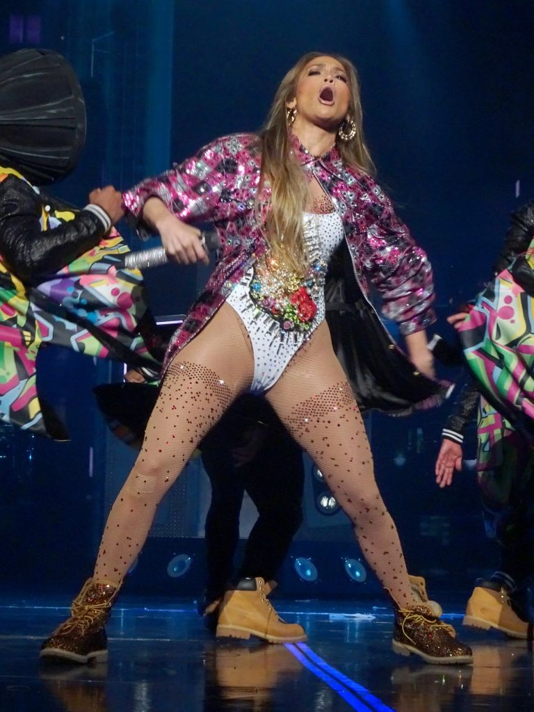 Jennifer Lopez shows her love for naked dresses at AMAs