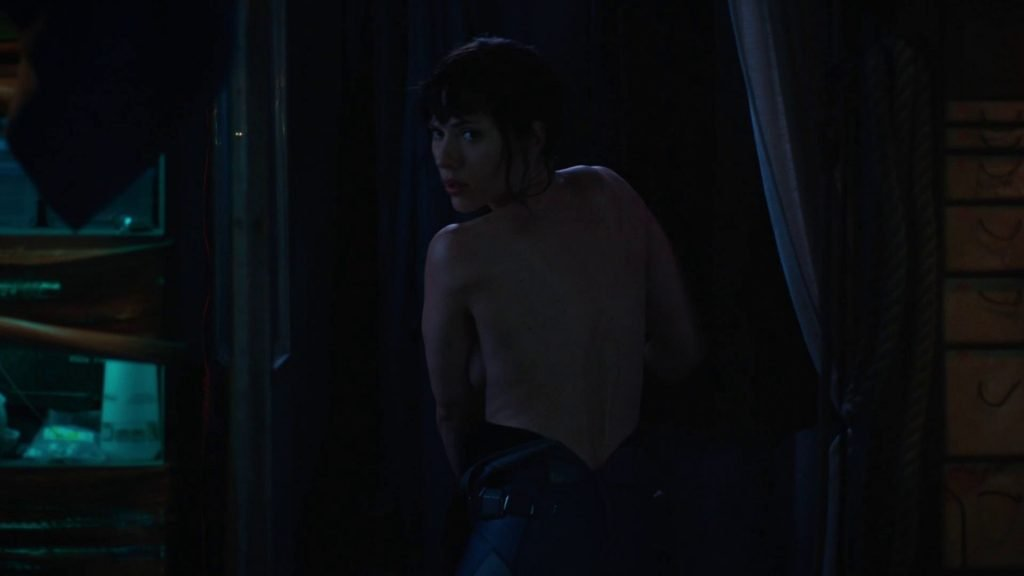 Scarlett Johansson Nude – Ghost in the Shell (2017) HD 1080p