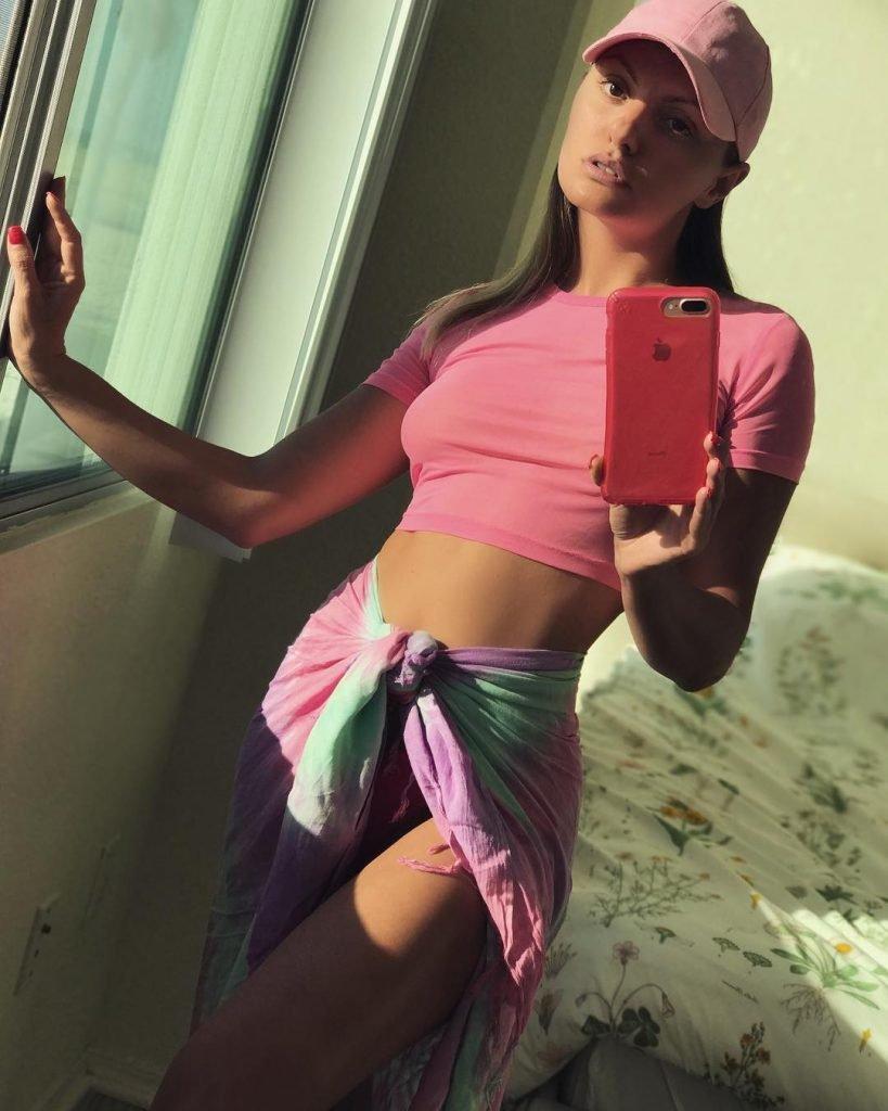 Alexandra Stan See Through (4 Pics + GIFs)
