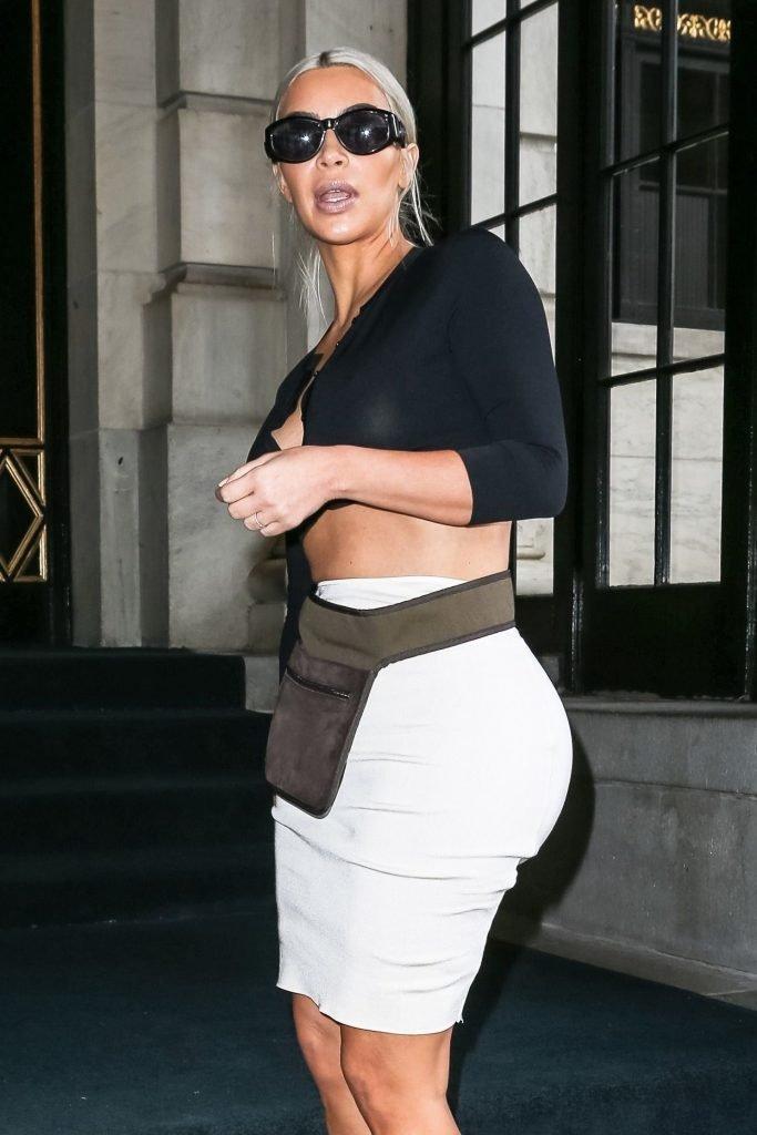 Kim Kardashian See Through (32 Photos)