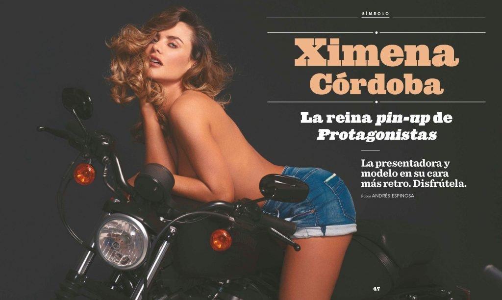 Ximena Cordoba Sexy & Topless (7 Photos)