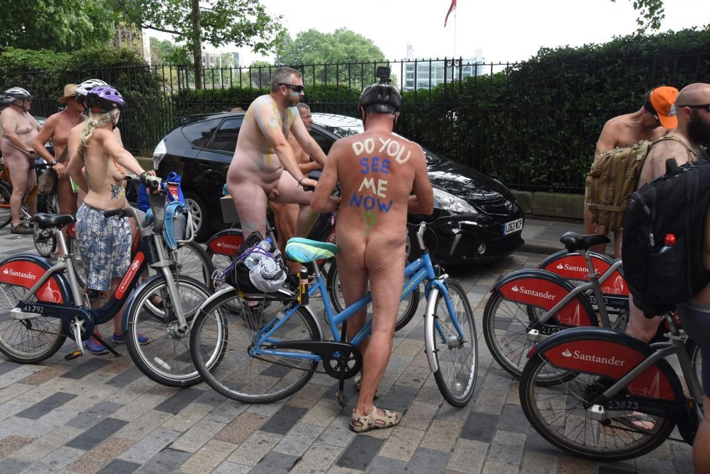 World Naked Bike Ride (57 Photos)