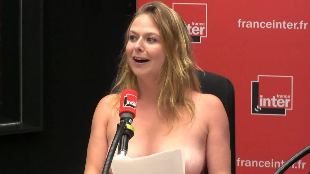 Constance Pitard Topless (8 Pics + GIF & Video)