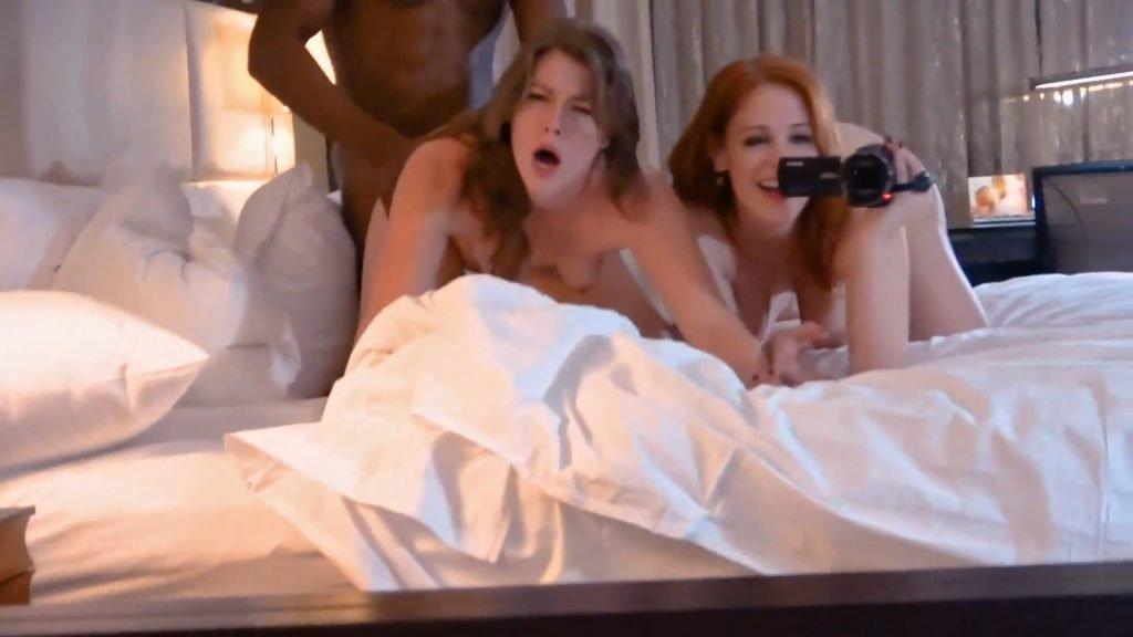 Maitland Ward Threesome Porn (20 Pics + Video)
