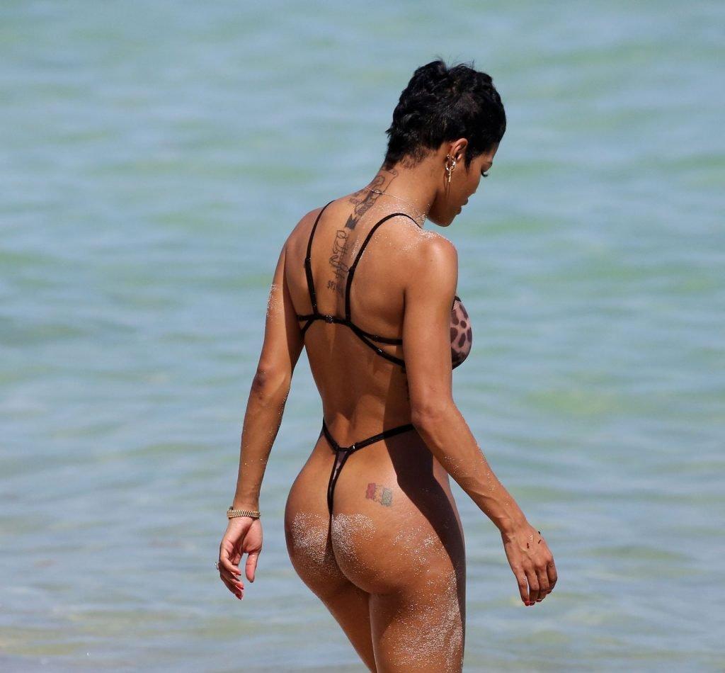 Teyana Taylor See Through (77 Photos)