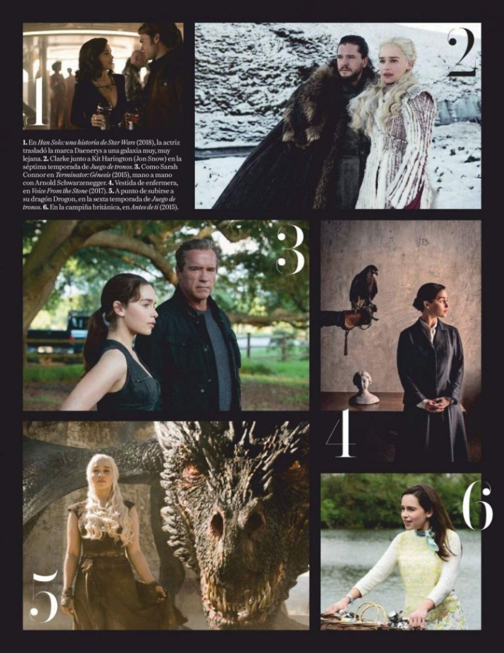 Emilia Clarke Sexy (10 Photos)