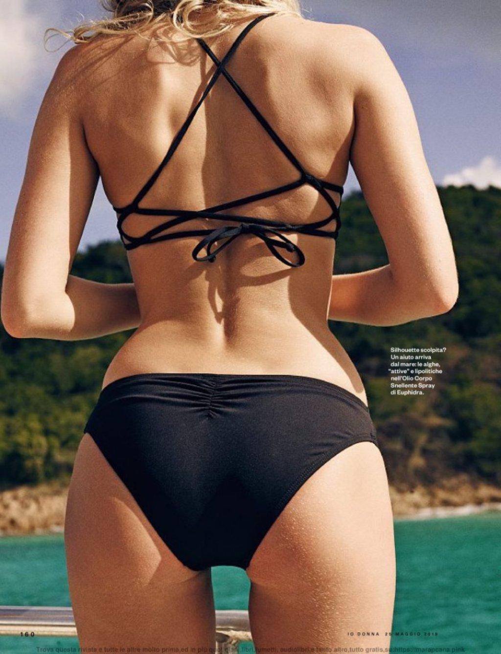 Elsa Hosk Sexy & Topless (12 New Photos)