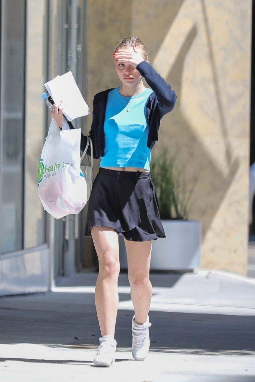 Lily-Rose Depp Braless (47 Photos)