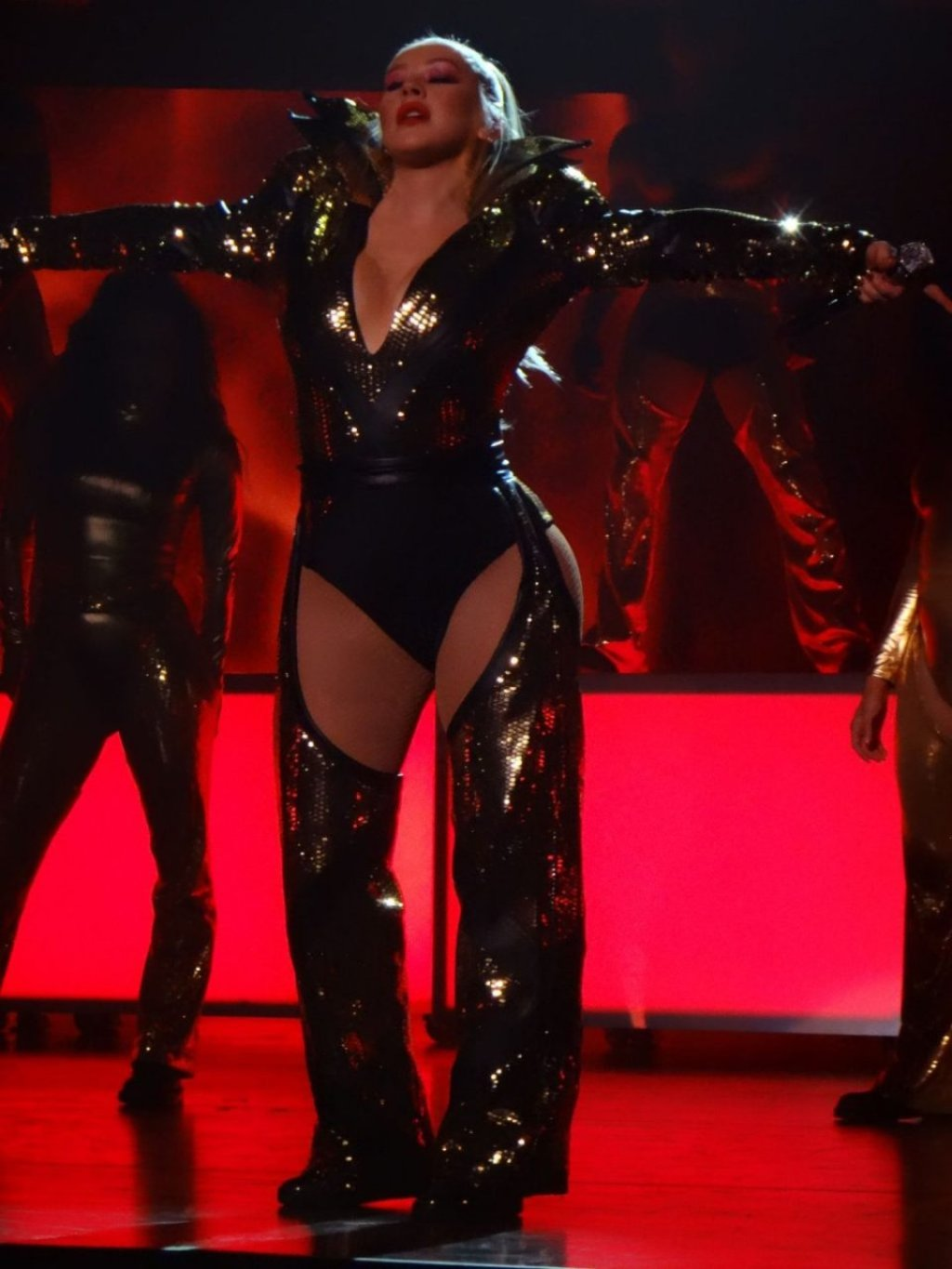 Christina Aguilera's Wardrobe Malfunction (72 Photos)
