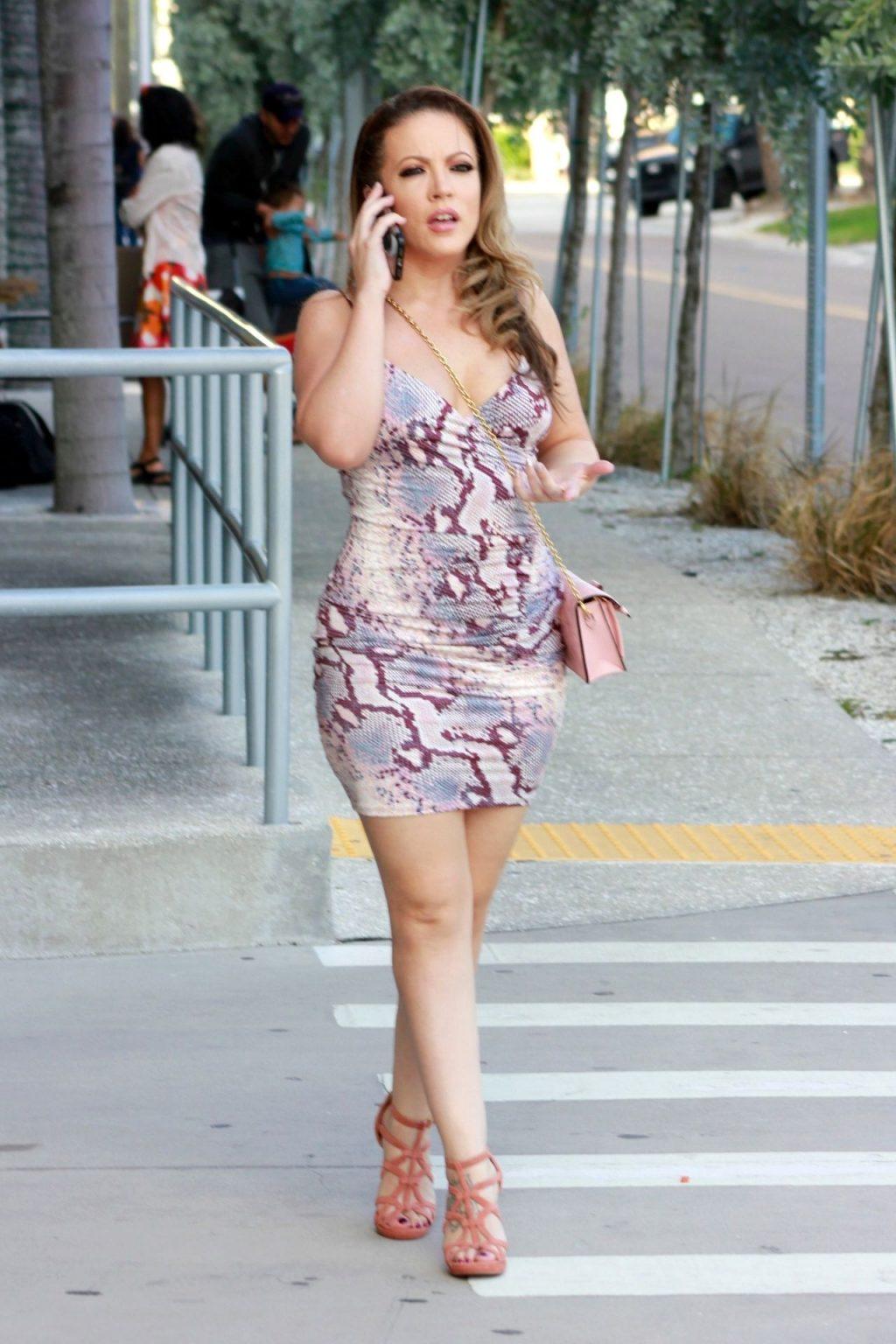 Carmen Valentina Nip Slip (12 Photos)