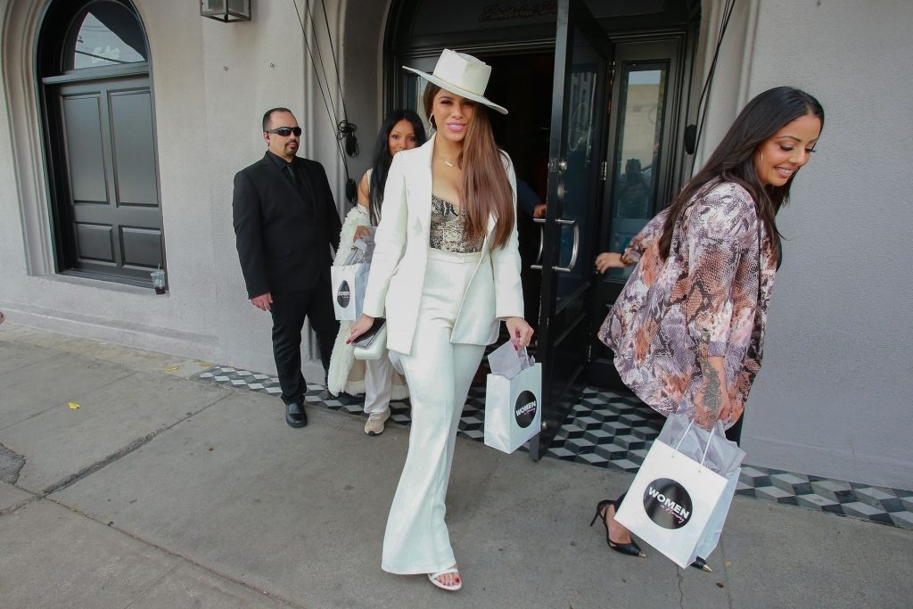 Dinah Jane Departs the Women in Harmony pre-Grammy Luncheon (35 Photos + Video)