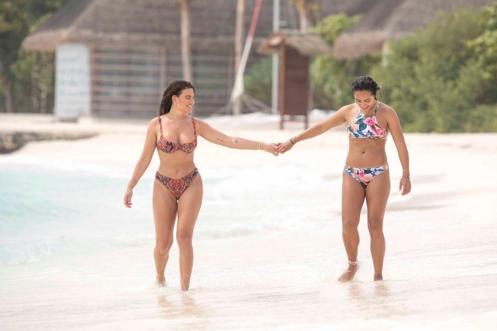Megan Barton-Hanson And Her Girlfriend Seen Enjoying Their Lesbian Holiday (56 Photos)