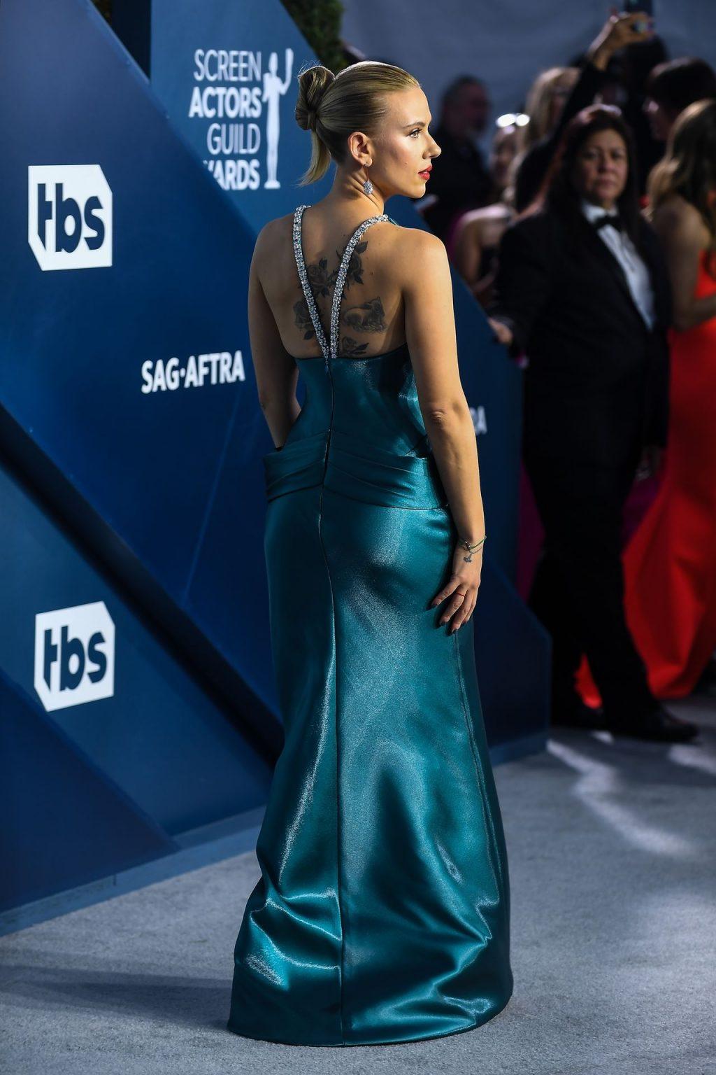 Scarlett Johansson Looks Stunning at the SAG Awards (130 Photos)