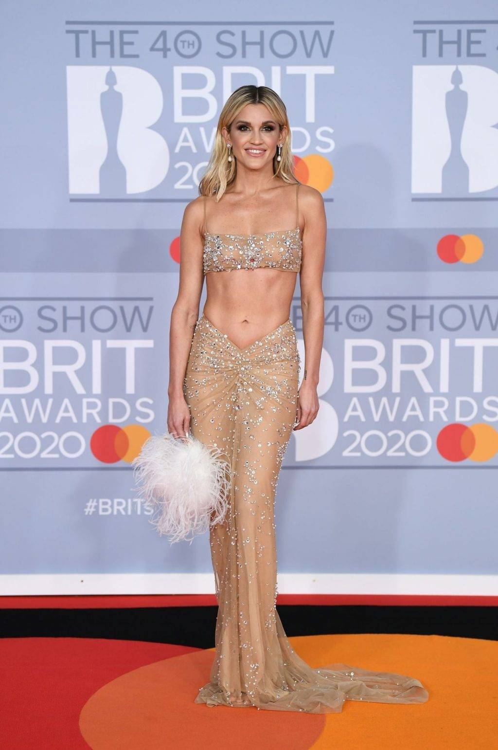Ashley Roberts Shows Her ABS at The 2020 BRIT Awards (51 Photos)