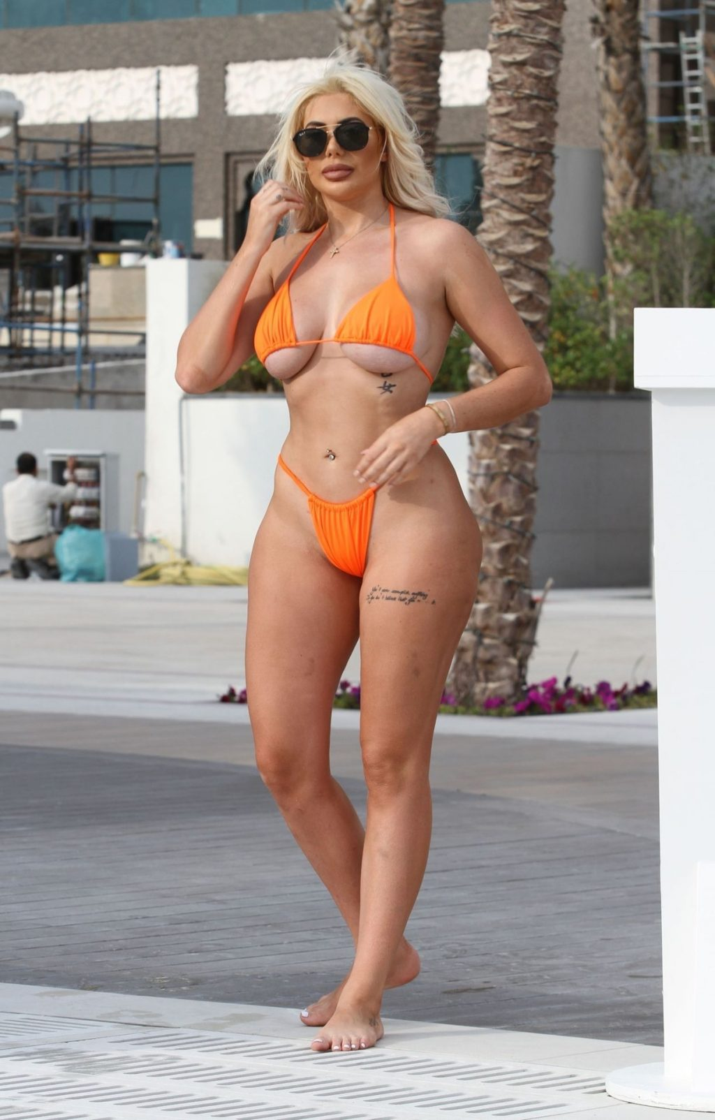 Chloe Ferry & Bethan Kershaw Sizzle in the Emirates Sunshine on Their Holiday Break in Dubai (40 Photos)