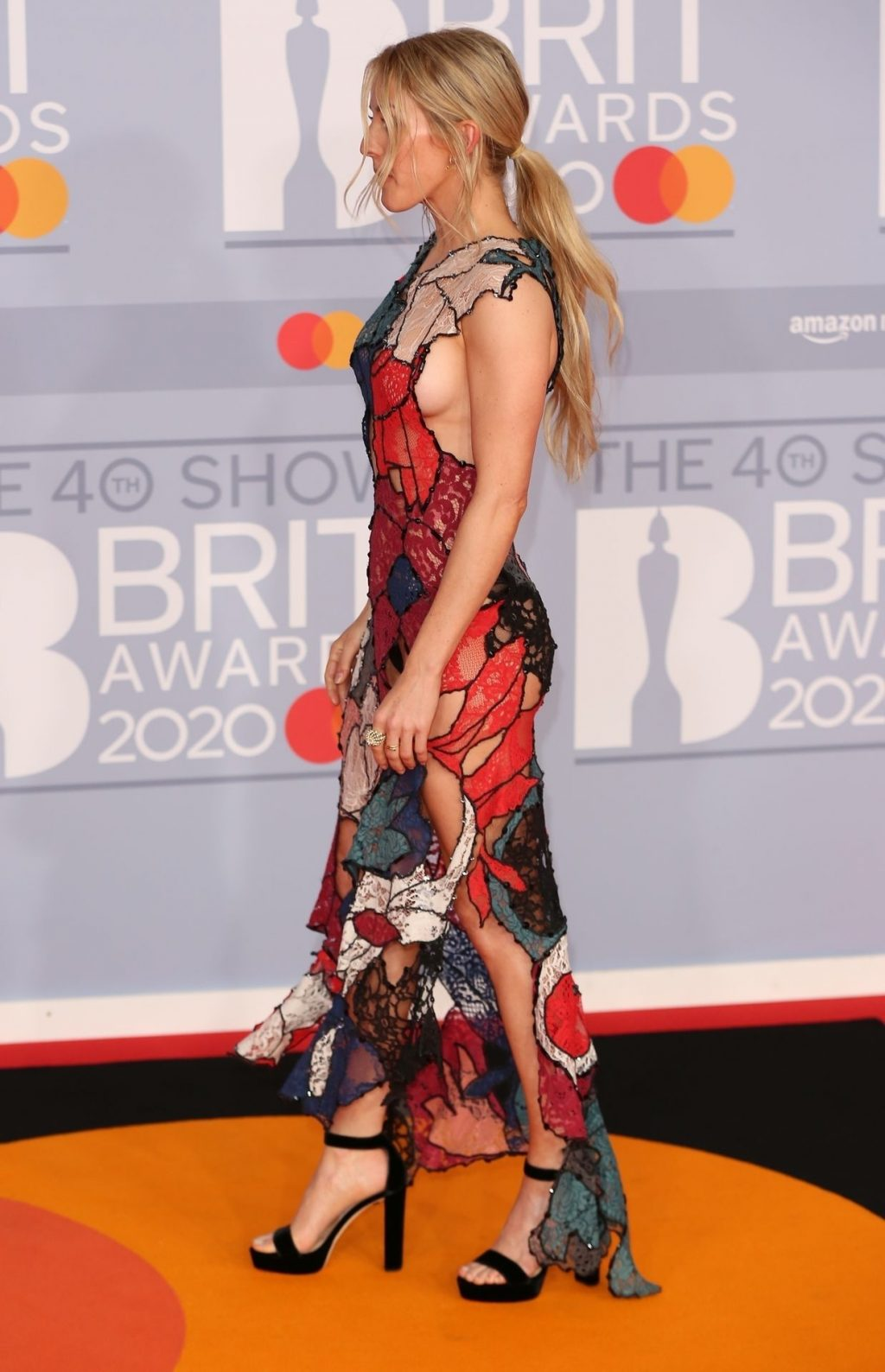 Ellie Goulding's Sideboob at The BRIT Awards (152 Photos)