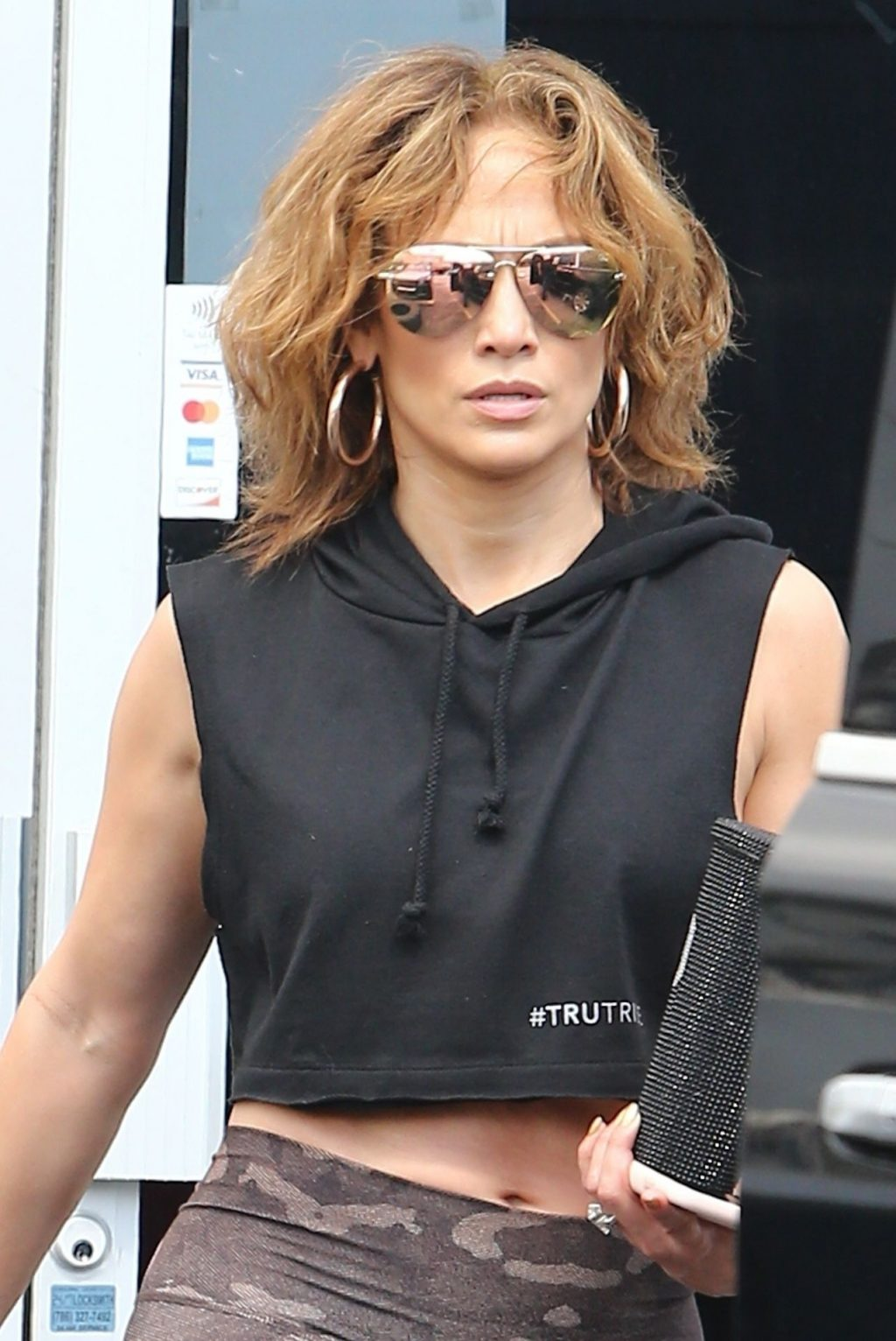Jennifer Lopez Shows That Rock Hard Abs Don't Just Happen as She Dutifully Hits the Gym in Miami (48 Photos)
