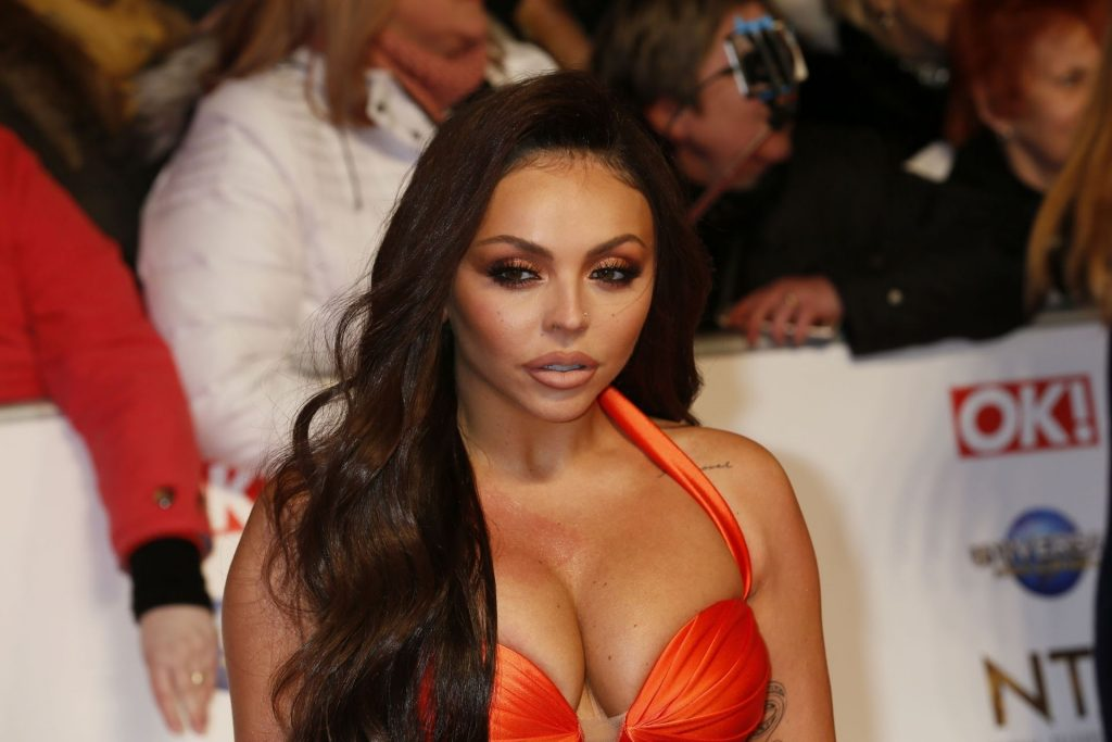 Jesy Nelson Shows Her Big Boobs at The National Television Awards (75 Photos)