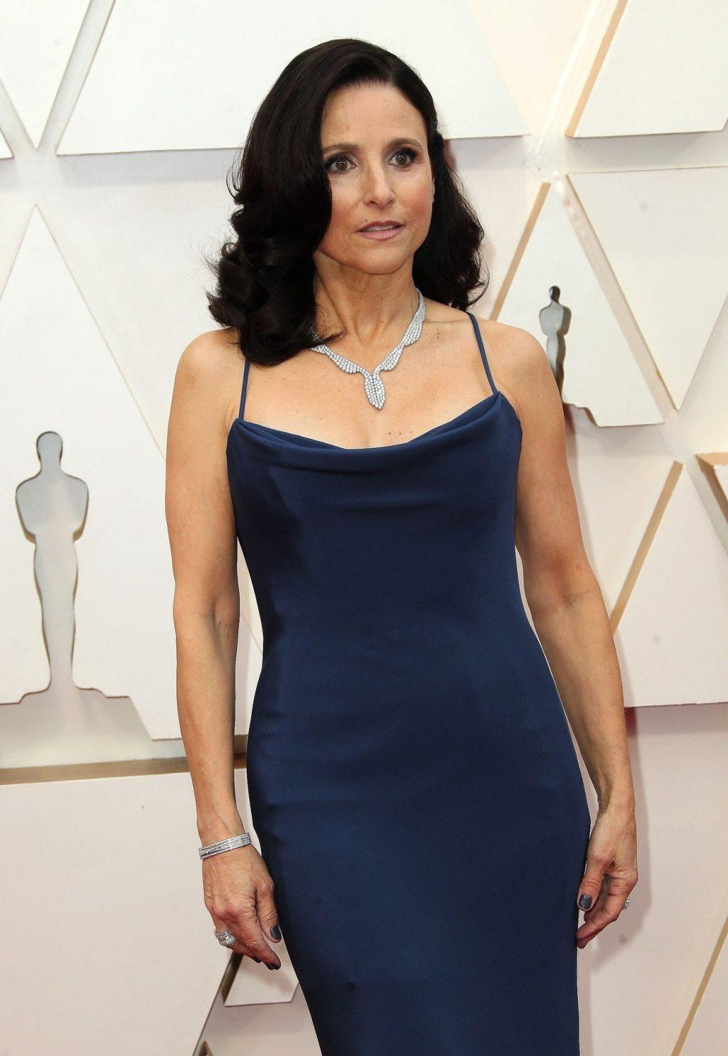 Julia Louis-Dreyfus Flaunts Her MILF Body at the 2020 Academy Awards (53 Photos)