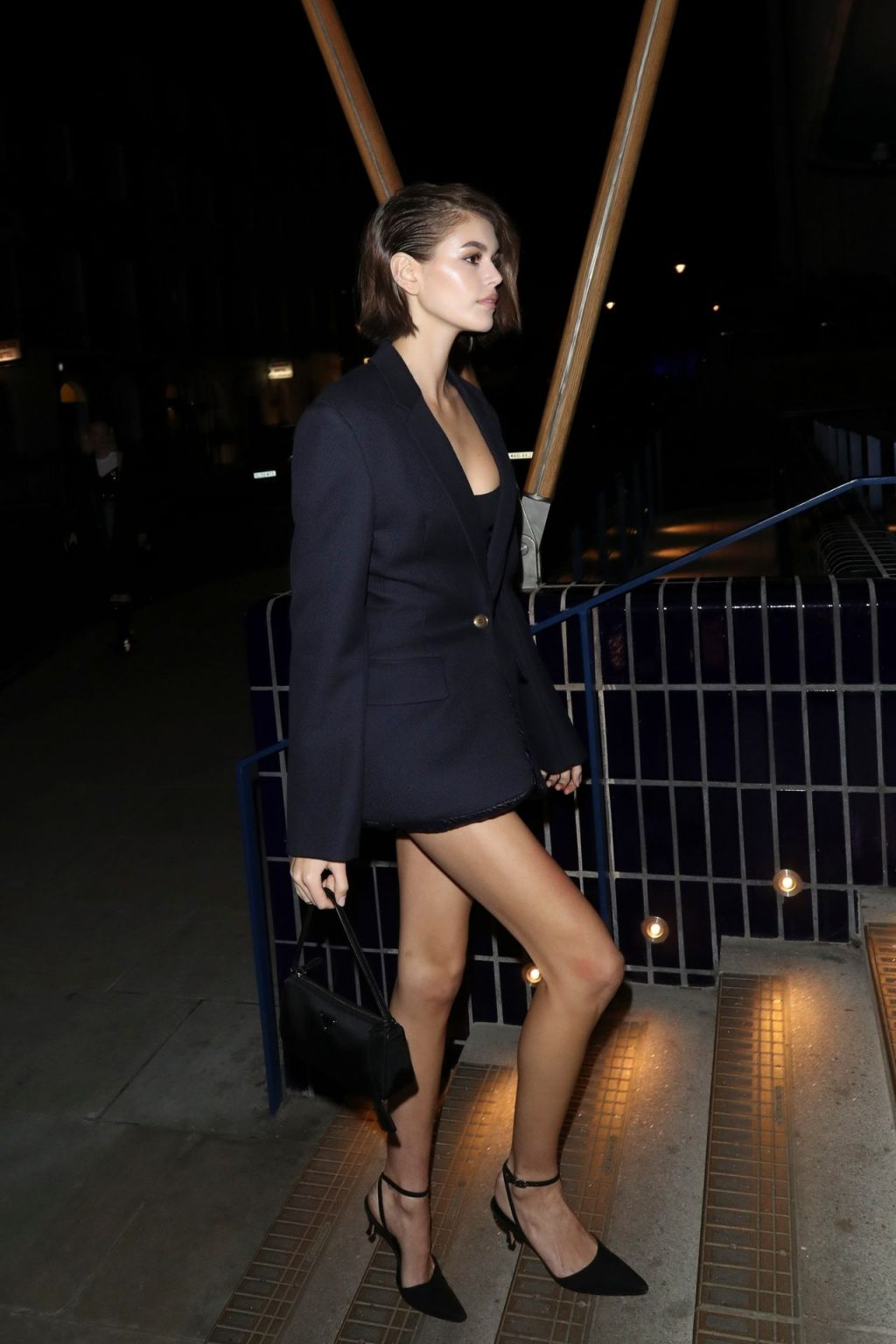 Kaia Gerber Shows Her Panties While Attending the LOVE magazine LFW Party (30 Photos)